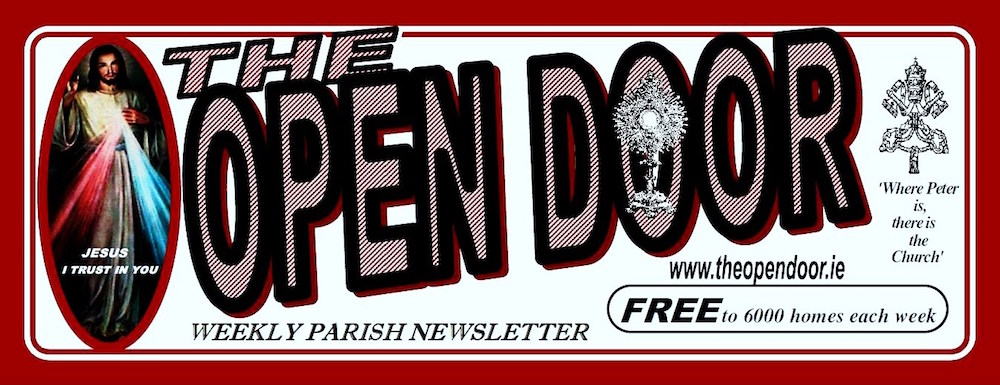 The Open Door - Weekly Advertiser & Catholic Newsletter